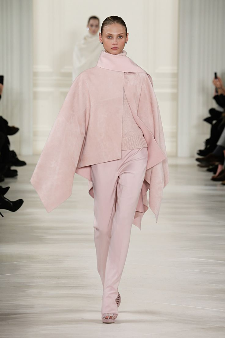 Fall Fashion 2014 Trend Pink Ralph LAUREN