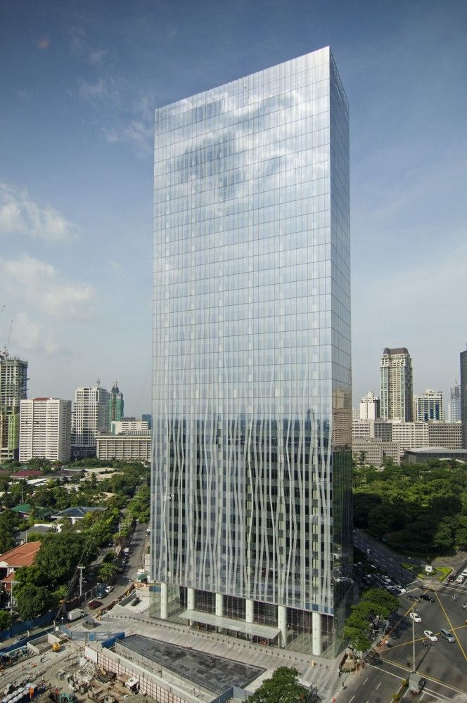 Zuellig Building / SOM - tower located in Manila's Makati Central Business District