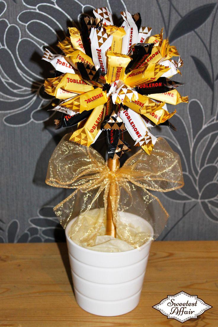 Mixed Toblerone Chocolate Sweet Tree http://www.ebay.co.uk/usr/sweetestaffair