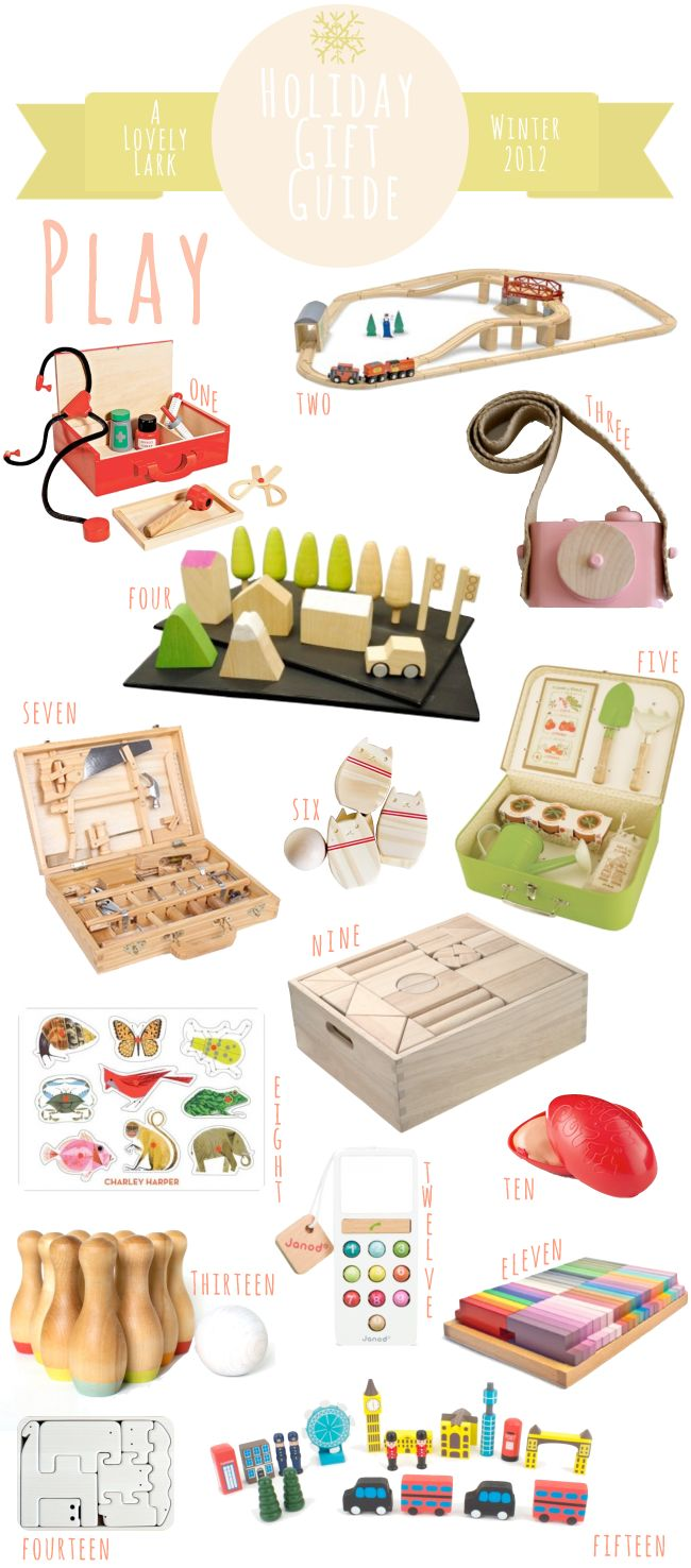 A Lovely Lark: Holiday Gift Guide 2012: Play