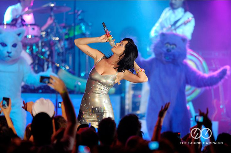 Katy Perry plays at The Plaza Ballroom for MasterCard Priceless Music Series.  www.thesoundcampaign.com