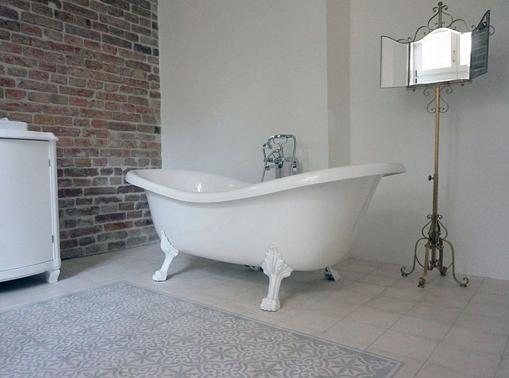grey aisha cement tiles in a stylish bathroom. 17 Best images about Bathrooms by Marrakesh Cement Tile on