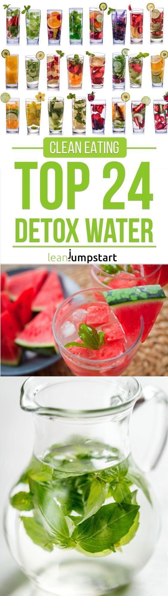 Agua de desintoxicación: las 24 mejores recetas limpias para aumentar tu metabolismo # impulsar # limpiar # déto …   – Gesund