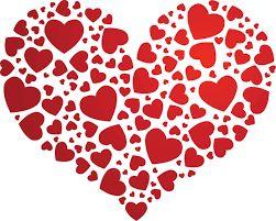 Resultado de imagen de corazones para imprimir y recortar