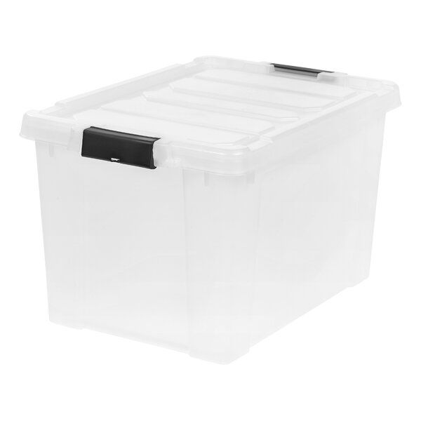 Store It All Plastic Tubs Totes In 2020 Plastic Storage Bins Clear Storage Bins Storage Bin