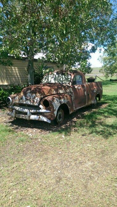 Old Holden ute.