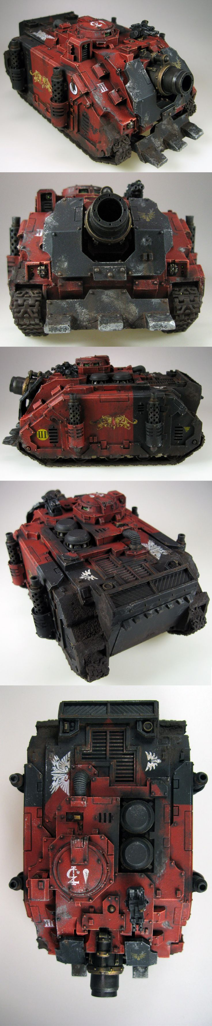 Blood Angels Army Project (pic carpet bombing) - Page 34 - Forum - DakkaDakka   My other army is painted.