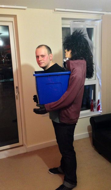 man in a box halloween costume - Halloween Box Costumes