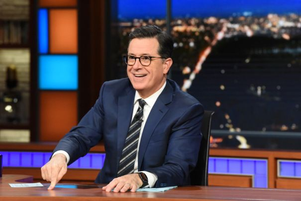 Stephen Colbert Addresses Donald Trump Endorsement Of Creme-De-La Creep Roy Moore - Deadline