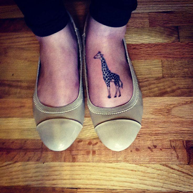 Giraffe foot tattoo - photo#34