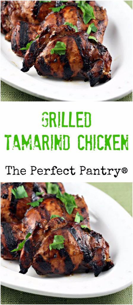 Grilled tamarind chicken will be the hit of your next barbecue!