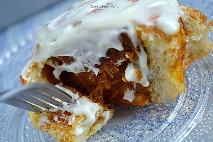 Słodki pomysł na drożdżówki dyniowe Cinnamon Rolls. Najlepsze drożdżówki jakie do tej pory jadłam!
