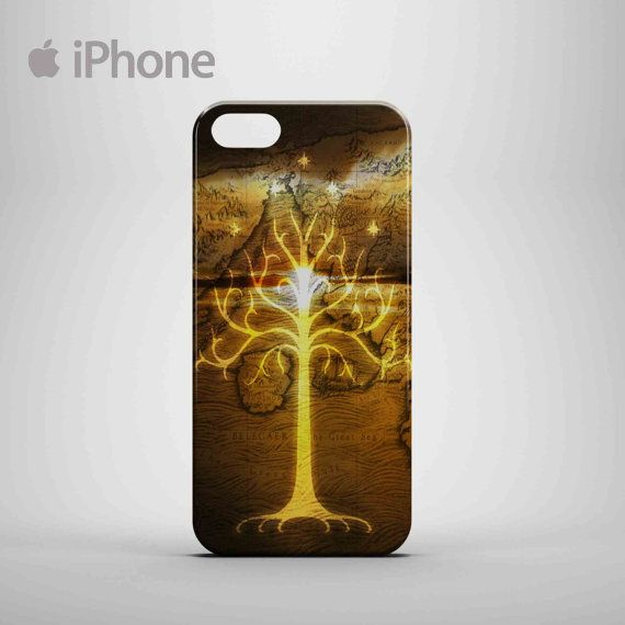 New Tree of Gondor Lord of The Rings LOTR gold logo by yogaefendi0