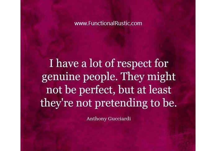 Genuine People Quotes