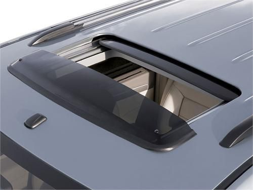 This is the Genuine OEM 2009-2013 Vw Routan Sunroof Deflector (J001). The Genuine OEM 2009-2013 Vw Routan Sunroof Deflector (J001) was aerodynamically designed to allow air to circulate through the cabin. So if you want fresh air going into your car without the overwhelming noise and push from driving, we highly recommend you get the Genuine OEM 2009-2013 Vw Routan Sunroof Deflector (J001).
