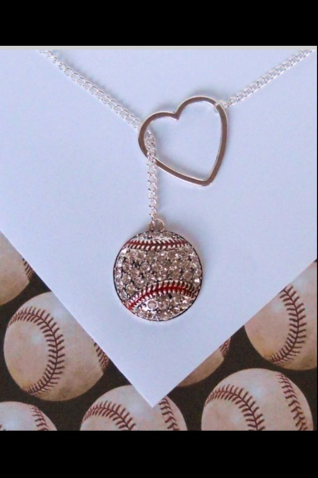 Want!!!! Absolutely a must-have for baseball lovers! It would also look cute with a football