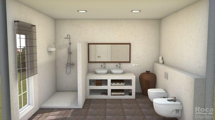 Baños Interiores Rusticos:rusticos