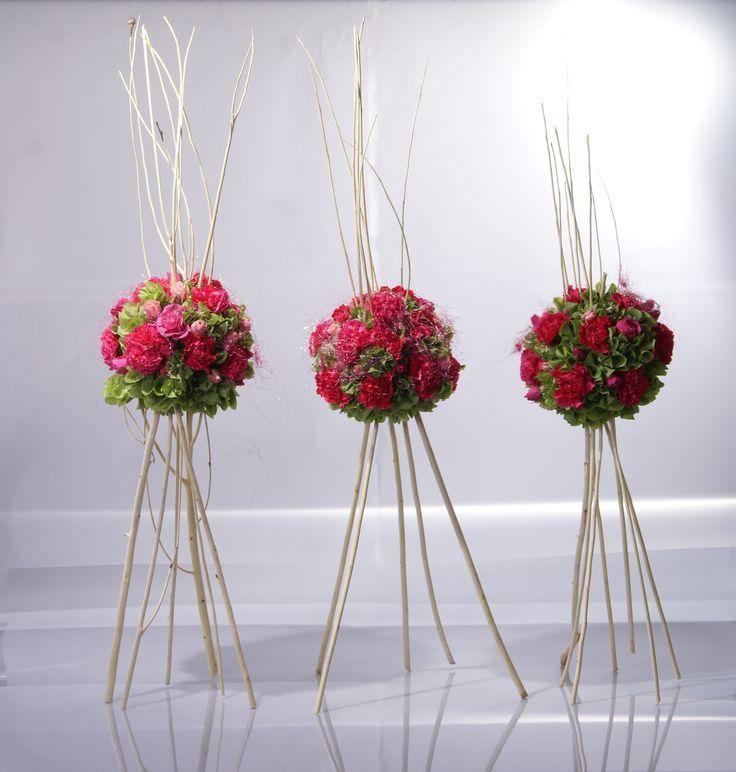 25 best ideas about arreglos de rosas naturales on - Arreglos florales artificiales centros de mesa ...