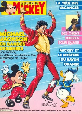 Le Journal de Mickey - 1984 | Curiosities and Facts about Michael Jackson ღ by ⊰@carlamartinsmj⊱