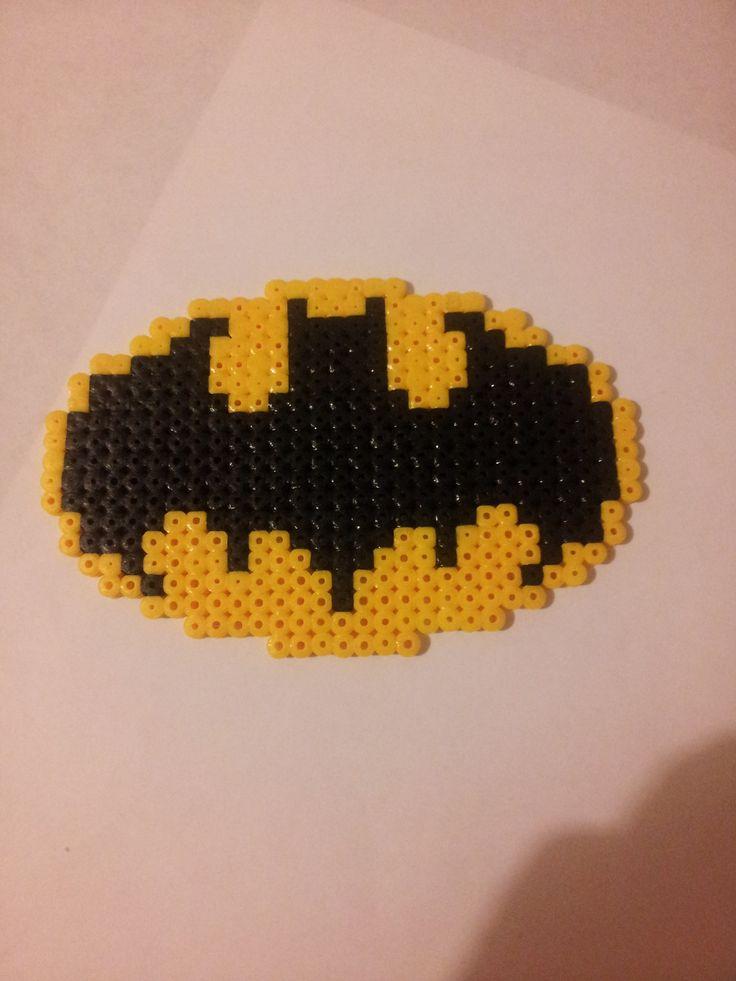 Logo Batman en perles à repasser Hama