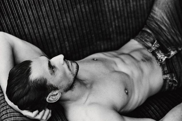 "S Moda ""El Pais"" Spanish Magazine/ 2 March 2013 / Wearing Pepe Jeans London.  Photographer: Damon Baker  Model: David Gandy"
