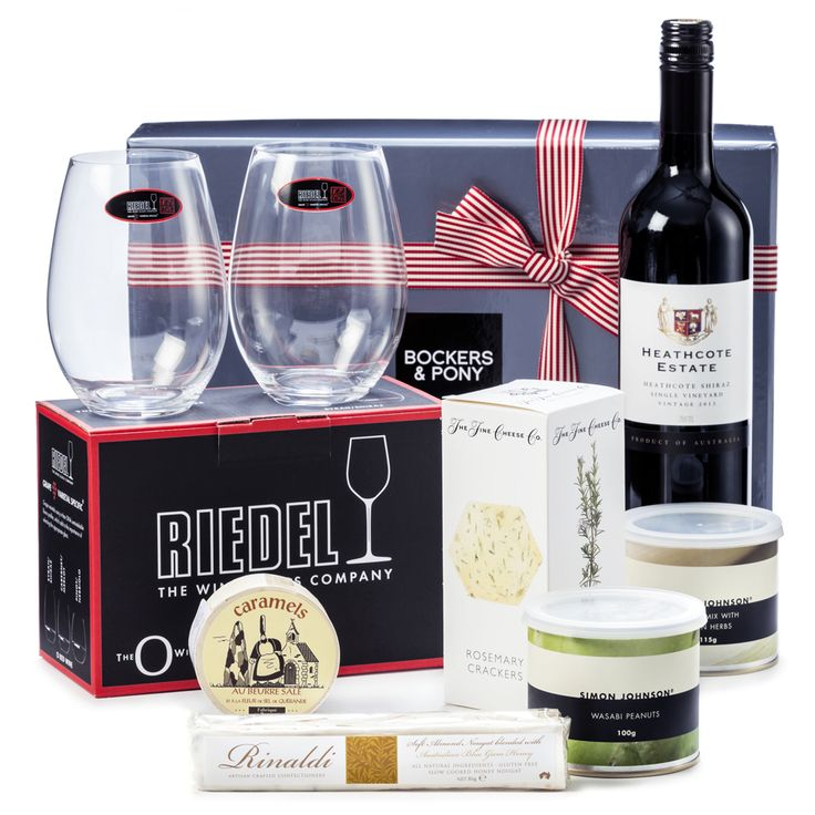 Big Red | Gourmet Food and Wine Hamper - Bockers and Pony