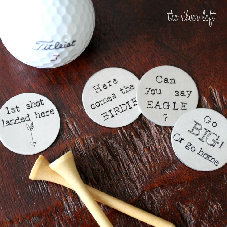 Set of 4 Golf Ball Markers