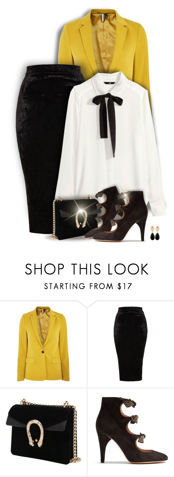 """From day to night"" by kiki-bi ❤ liked on Polyvore featuring Topshop, TFNC, Chloé and Carousel Jewels"