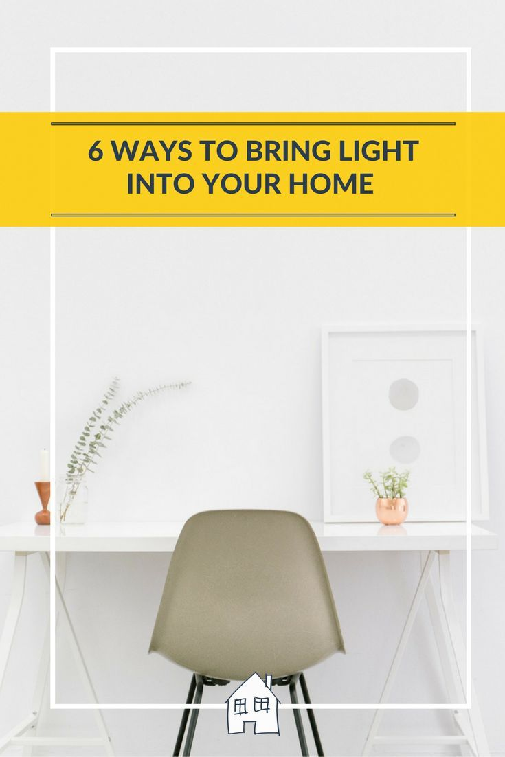 Are you looking for more space in your home? How about adding more light into your home to make your home feel brighter and larger. See what suggestions I have put together on how to bring more light into your home