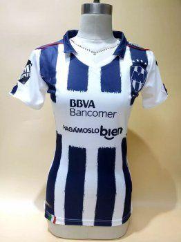 Women's Monterrey FC Home 16-17 Season Soccer Jersey [I511]