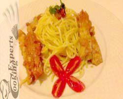 Σπαγγέτι με κοτόπουλο! http://www.cookex.gr/spaggeti-me-kotopoulo/