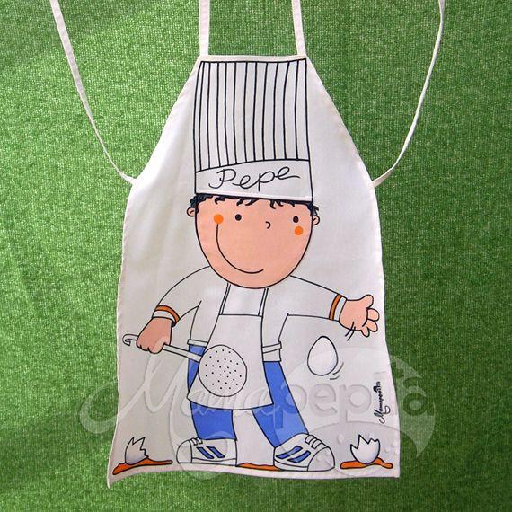 Las 25 mejores ideas sobre patrones de costura de b ho en for Delantales para ninos cocina