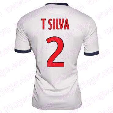 Maillot PSG (Thiago Silva 2) Exterieur pas cher -Acheter 2013-2014 Maillot PSG (Thiago Silva 2) Exterieur authentique et unique un prix abordable,vous pouvez choisir le nom de votre joueur préféré et le nombre sur le dos. 2013-2014 Maillot PSG (Thiago Silva 2) Exterieur Élégant pour Football Coupe du Monde 2014 est votre meilleur choix aujourd'hui . - http://www.21cgw.com/20132014-maillot-psg-thiago-silva-2-exterieur-pas-cher-21cgwcom-p-1630.html