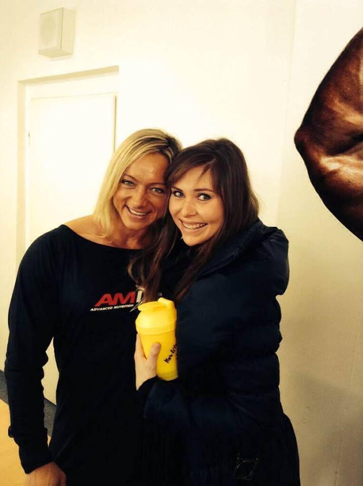 with *amazing* Káťa Kyptová