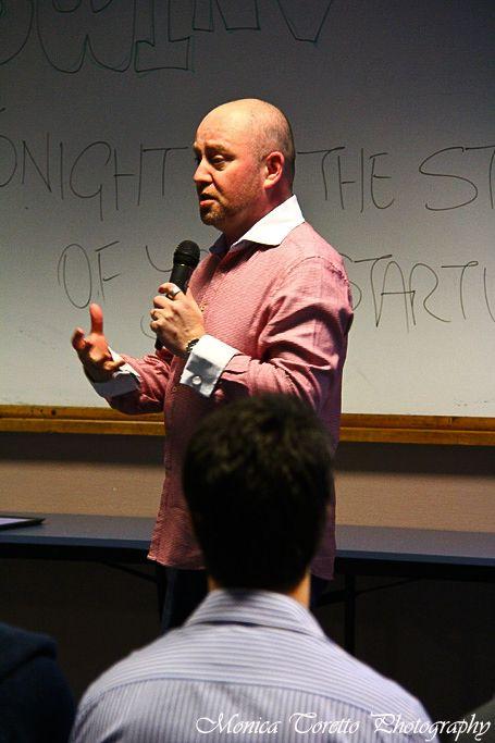 Deputy Mayor Darren Ludlow with a entertaining and encouraging opening night speech. July 26, 2013.