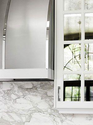 Beyond Basic White Kitchen  Kitchen MirrorsMirror CabinetsKitchen  24 best mirrored kitchen cabinet doors images on Pinterest   Home  . Mirrored Kitchen Cabinets. Home Design Ideas