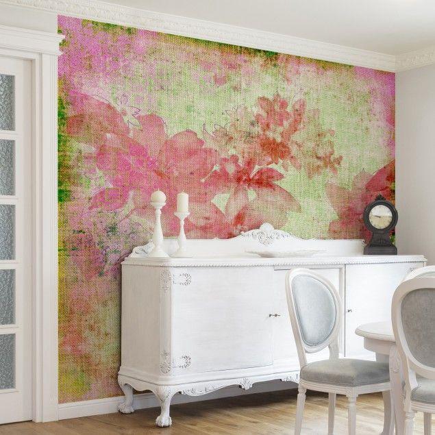 Die besten 25+ Blumentapete Ideen auf Pinterest Blumen - fototapete wohnzimmer braun