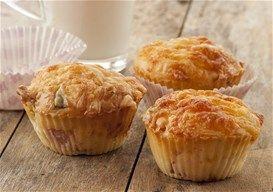 Muffins me zampon kai graviera