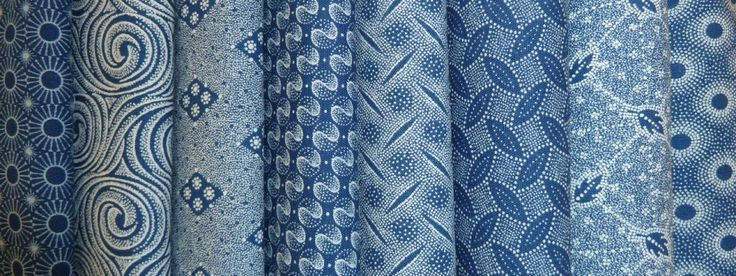Classic indigo shweshwe from South Africa now available in Canada. Worldwide shipping available from http://www.meerkatshweshwe.com/