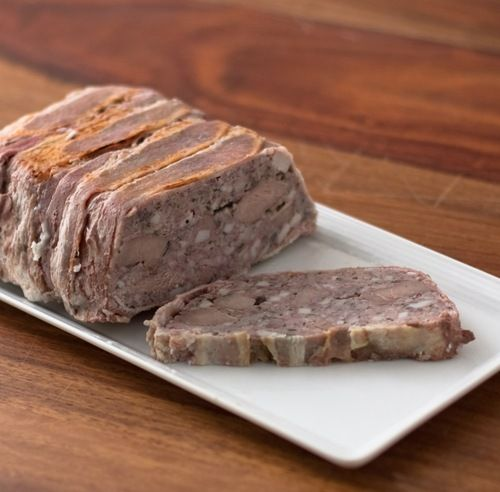 Game Terrine... I have the Rabbits in the freezer just another quick trip to my butcher and I'm going to make this!
