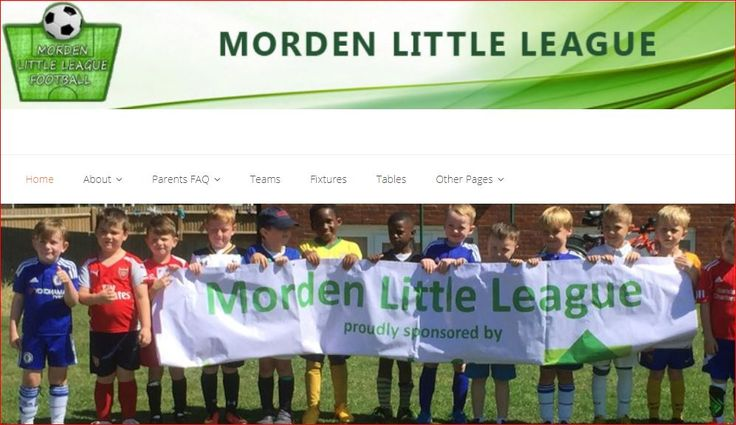 Home page of http://mordenlittleleague.com/new/history/