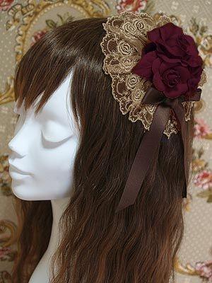 Lolibrary | Mary Magdalene - Hair accessories - Rosette Headdress (2012)