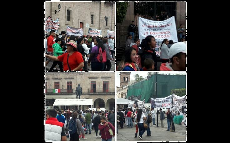 Los encabezados por Delfino Paredes conmemoraron un año más de la Matanza de Tlatelolco del 2 de octubre de 1968 – Morelia, Michoacán, 02 de octubre de 2017.- Este lunes ...