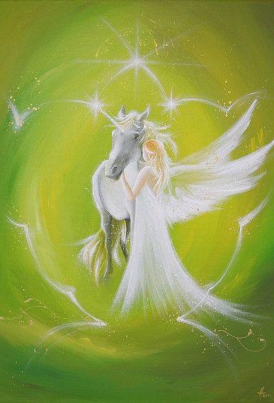 Limited angel art photo deep friendship modern door HenriettesART