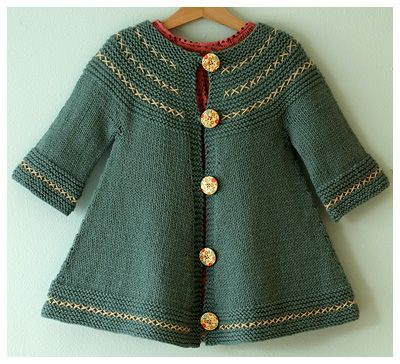 Swing Thing Free Pattern on Ravelry  Child's Jacket Knitted