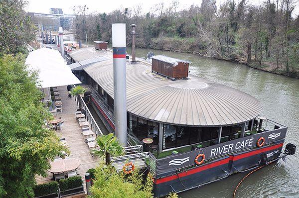 Restaurant Le River Café Issy-les-Moulineaux