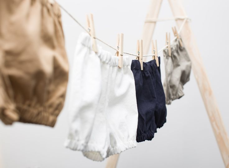 Baby bloomers for 0-24 months in 4 different colours