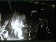Neil Armstrong in Space Environment Simulation Lab