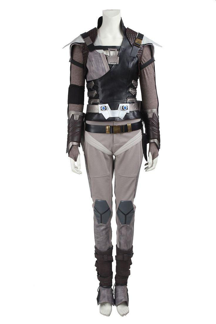 HOT! Star Trek Beyond Jaylah Cosplay Costume Outfit Custom Size Halloween Dress Costume