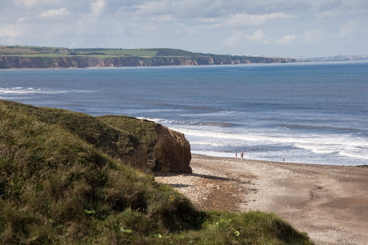 Walks in Durham can provide stunning scenes of the heritage coast....